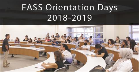 FASS Graduate Orientation Days