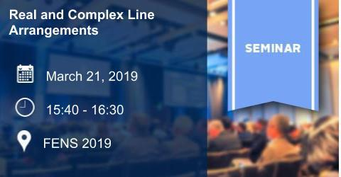 Mathematics Colloquium: Real and Complex Line Arrangements
