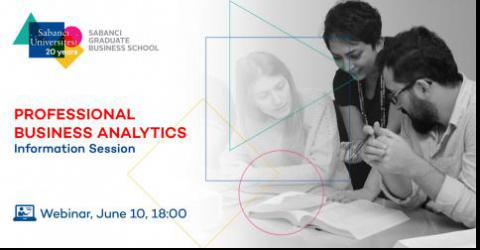 Professional Business Analytics Master Program Information Session