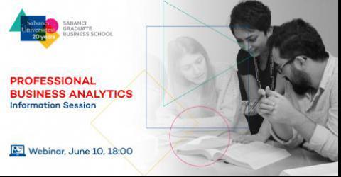 Professional Business Analytics Master Program Information Session