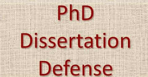 dissertation defense hints Thesis defense tips presented by us will give you an advantage and will get your thesis accepted.