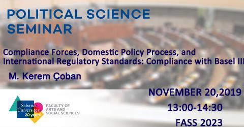 POLS Seminar: M. Kerem Çoban (Research Associate,GLODEM, Koç University)