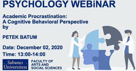 Psychology Seminar: Petek Batum