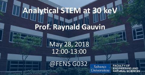 MAT Seminar: Analytical STEM at 30 keV