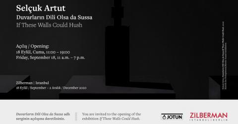 Selçuk Artuts solo exhibition