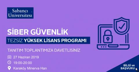 Siber Güvenlik Tezsiz Yüksek Lisans Programı Tanıtım Toplantısı