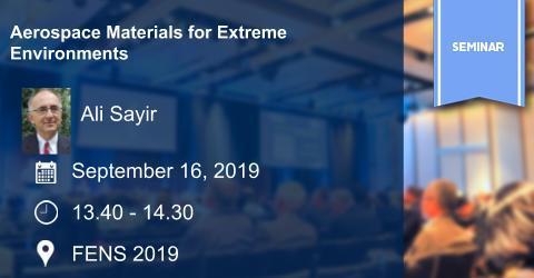 Seminar: Aerospace Materials for Extreme Environments