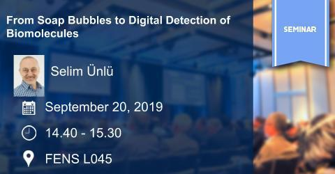 Seminar: From Soap Bubbles to Digital Detection of Biomolecules