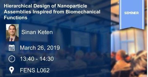 IE Seminar:  Hierarchical Design of Nanoparticle Assemblies Inspired...