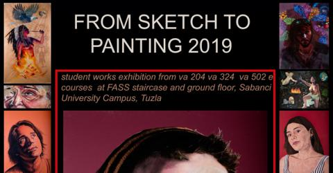 From Sketch to Painting 2019