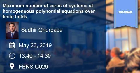 Mathematics Colloquium: Maximum number of zeros of systems of homogen...