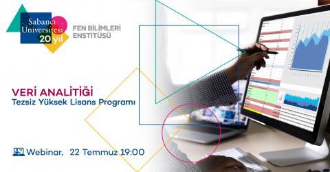 Veri Analitiği Tezsiz Yüksek Lisans Programı Tanıtım Toplantısı
