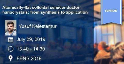 MAT Seminar: Atomically-flat colloidal semiconductor nanocrystals